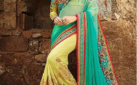 Top 10 Silk Saree With Designer Blouse